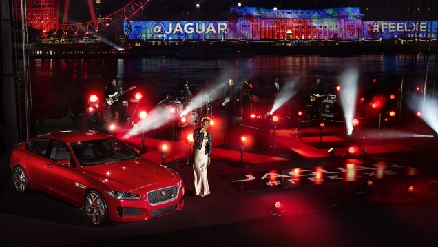 Projection Mapping for Jaguar #FeelXE Launch