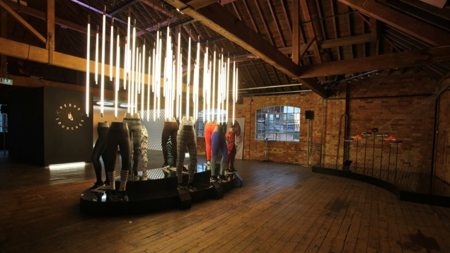 Nike Women Retail Event environment design