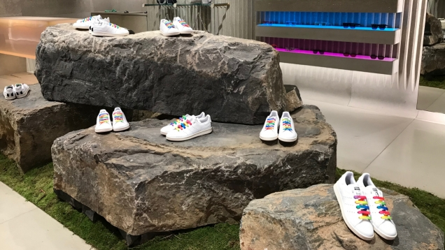 stella mccartney stan smith shoe launch