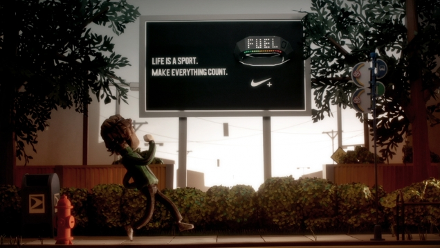 nike make it count animation
