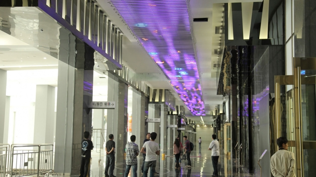 interactive ceiling commission, shenyang