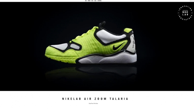 nike air zoom talaria launch content