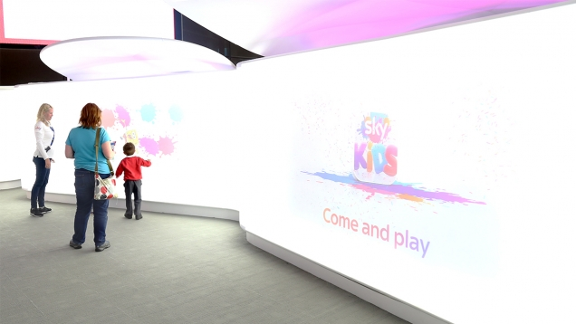 Sky Kids App at The O2